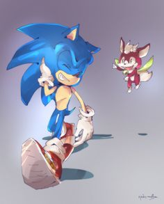 Sonic and Chip[AT] by zjedz-goffra on DeviantArt Sonic The Hedgehog, Sonic Unleashed, Video Game Characters, Fictional Characters, Speed Of Sound, Best Pal, Sonic Fan Art, Mind Blown, A Team