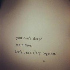 sleep | less