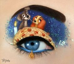 Image discovered by Daiana. Find images and videos about art, makeup and make up on We Heart It - the app to get lost in what you love. Makeup Eye Looks, Eye Makeup Art, Crazy Makeup, Eye Art, Eyeshadow Makeup, Fairy Makeup, Mermaid Makeup, Eyeliner, Skin Makeup