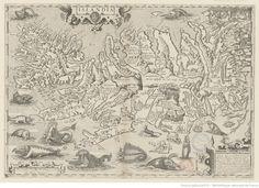 Islandia. Abraham Ortelius. 1587. National Library Of France