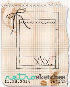 retro sketches : a challenge: retrosketches #143...