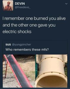 At my elementary in Colorado we had a metal slide that was about 2 stories tall... No joke. I couldn't go through those tube ones. In dry air my hair already naturally builds up enough static electricity to stop watches and zap everything I touch or people who touch me so you can imagine what happened when I went through one of those.