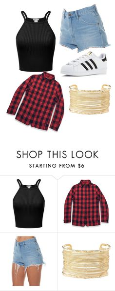"""""""Untitled #185"""" by lilicabsilveira-1 on Polyvore featuring Ryder, Wrangler, Charlotte Russe and adidas"""