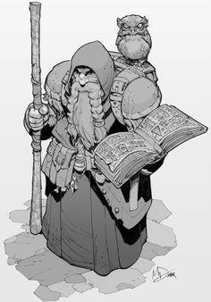 Dungeons and Dragons character by Max-Dunbar on DeviantArt Character Creation, Fantasy Character Design, Character Design Inspiration, Character Concept, Character Art, Concept Art, Fantasy Dwarf, Fantasy Rpg, Medieval Fantasy