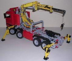 Lego Truck, Lego Technic, Legos, Nerf, Trucks, Lego, Truck