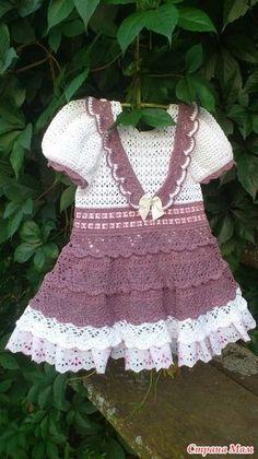 Crochet Skirt Pattern, Crochet Motif, Baby Girl Crochet, Crochet For Kids, Girls Dresses, Crochet Dresses, Skirts, Clothes, Craft