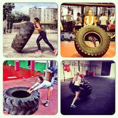 #atitudeboaforma: Top 4 CrossFit! @bloggers4fit, @fitforlife_brasil, @carolbellottip e @gigigarotti ➡️A missão CrossFit continua: Se você pratica, tire uma foto do seu melhor momento e compartilhe no instagram usando a hashtag #atitudeboaforma. Quem vai encarar esse desafio? #boaforma #exercícios #crossfit