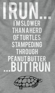 But I run so...