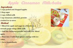 Apple Milkshake !!..