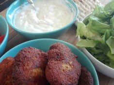Φαλάφελ (Vegan) Mashed Potatoes, Muffin, Vegan, Breakfast, Ethnic Recipes, Food, Whipped Potatoes, Morning Coffee, Smash Potatoes
