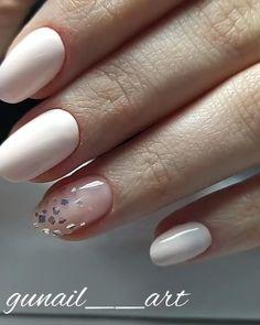 Acrylic Nail Designs, Nail Art Designs, Acrylic Nails, Gel Manicure Designs, Nails Design, Classy Nail Designs, Short Nail Designs, Neutral Nail Designs, Stylish Nails
