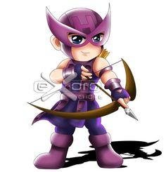 Hawkeye Chibi