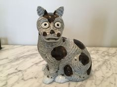 Mottahedeh / Nelson Рокфеллер коллекции Кот в отличном б/у состоянии.   Это предназначено для допускать оно к или стоять отдельно или подходить над маленький по обету стиле свечи, по мере того как обряд вентиляционное отверстие в верхней части.   Nelson Rockefeller Collection Mottahedeh K 039 Ang HSI Cat Lamp | eBay