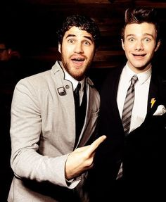 Darren Criss & Chris Colfer