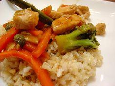 The Sisters Dish: Chicken Teriyaki Rice Bowls