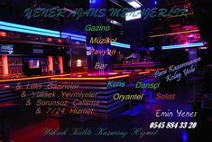 gazinolarda is imkani kons oryantel is ilanlari oryantel dansci kons menajeri Club Bar, Neon Signs, Dance, Dancing