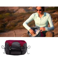 Genius idea: Gobi Gear stuff sacs are segmented! Now you can find WHAT you need WHEN you need it. Get organized today! Outdoor Recreation, Sling Backpack, Backpacks, Fashion, Bag, Moda, La Mode, Women's Backpack, Fasion