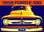 Fordimages.com - 56 Ford F-100 : Posters and Framed Art Prints Available