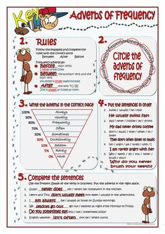 ADVERBS OF FREQUENCY worksheet - Free ESL printable worksheets made by teachers