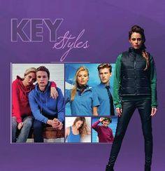 Klikbare online brochure Key styles