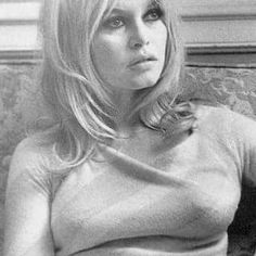 This is Brigette Bardot, she is who Rick Springfield says his beloved wife, Barbie reminds him of. I think they are both beautiful.
