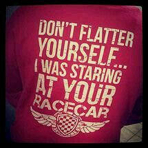 I love this since i am a racecar driver
