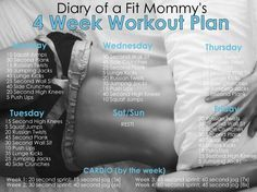 4 Week No-Gym Home Workout Plan