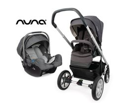 Nuna Mixx Stroller in Slate and Pipa Infant Car Seat Giveaway