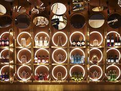 G&Tea (Pyrmont, Australia) Bar Interior Design, Restaurant Interior Design, Cafe Design, Design Design, Bar Design Awards, Billard Bar, Bar Bistro, Tea Restaurant, Bar Counter Design