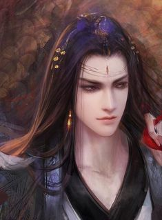 Beautiful anime men chinese painting, dek d, fantasy art men, fantasy warrior, Fantasy Art Men, Fantasy Kunst, Fantasy Warrior, Fantasy Artwork, Chinese Drawings, Chinese Art, Chinese Painting, Character Inspiration, Character Art