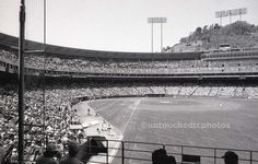 Unique Candlestick Park. One of a kind. Now it is gone. Photographed from the right field pavilion seats back in the early 1990's.