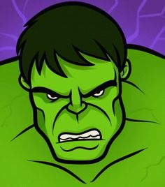 Drawing Easy How to Draw the Hulk Easy, Step by Step, Marvel Characters, Draw . Avengers Drawings, Drawing Superheroes, Drawing Cartoon Characters, Comic Drawing, Cartoon Faces, Marvel Characters, Cartoon Drawings, Easy Drawings, Drawing Step