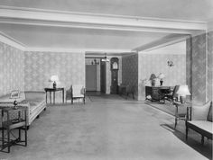 vintage everyday: Apartment Lobbies From The Early 1900s