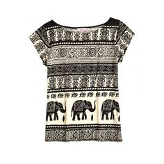 Raju Block Printed Cotton Tee