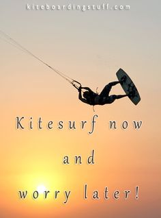 Less worry! #kitesurf