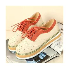 2012 Korean Fashion Thick Bottom Anti-skid Flat, only $38.99, Cheap in... via Polyvore