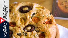 Evde Ekmek Yapımı  Foccacia Ekmeği Nasıl Yapılır? - Arda'nın Mutfağı - YouTube Mashed Potatoes, Muffin, Pasta, Bread, Breakfast, Ethnic Recipes, Youtube, Food, Whipped Potatoes