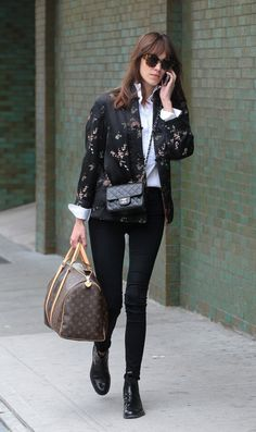 Alexa Chung - Alexa Chung Takes a Stroll Through the East Village