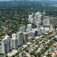 Extreme Wide Shot of Los Angeles on helicopter #picture #DTLA