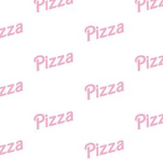 Barbie Pizza - Pattern, Surface Design, Typography