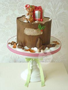 Sleeping mouse Christmas cake | Flickr - Photo Sharing!