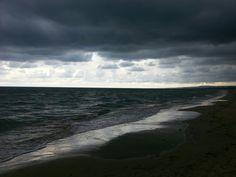 Spiaggia di Vasto Marina.......la tempesta all' improvviso