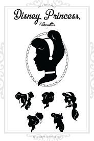 Image result for disney silhouettes