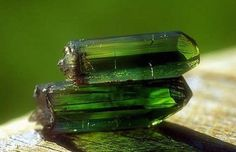 green color tourmaline crystal - properties and power