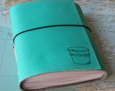 bucket list journal with maps as a travel journal