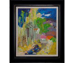 De schilder Tian Yi verrast met zijn prachtige  blonde zomerse tinten. Nu bij Galerie Kunstbroeders in Amersfoort.