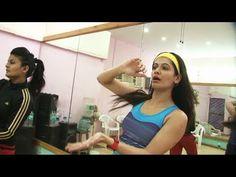 Payal Rohatgi's UNSEEN PERSONAL dance rehearsal video.
