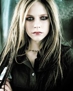 Hollywood Celebrity Art Photo Poster 24 inch by 36 inch AVRIL LAVIGNE 01