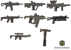 Amazon.com: Custom LEGO® Guns - Modern Warfare Weapons 8 pack : Special Forces Assault Rifle, Tactical Tomahawk, SMG-45 SMG, Tavor Tar-21 Commando Carbine, Russian PP-19 Bizon SMG, L85A2, M14-EBR, Advanced Sniper: Toys & Games