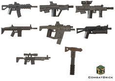 Amazon.com: Custom LEGO® Guns - Modern Warfare Weapons 8 pack : Special Forces Assault Rifle, Tactical Tomahawk, SMG-45 SMG, Tavor Tar-21 Commando Carbine, Russian PP-19 Bizon SMG, L85A2, M14-EBR, Advanced Sniper: Toys & Games